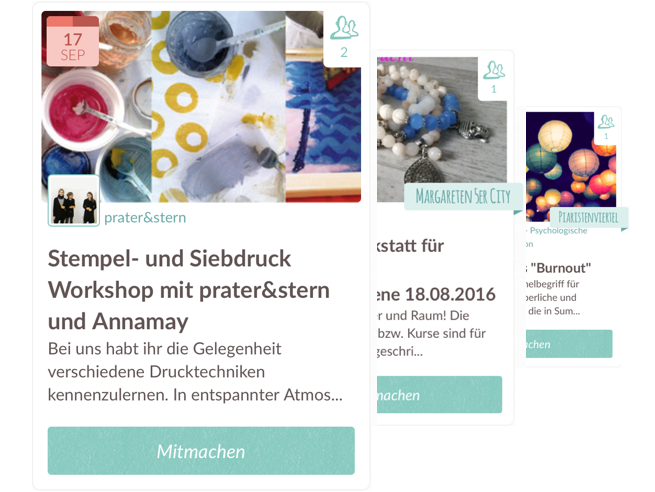 Imgraetzl features events workshops